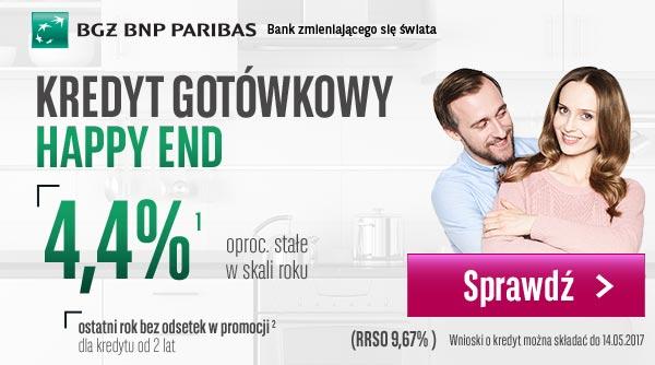 BGŻ BNP Paribas kredyt gotówkowy